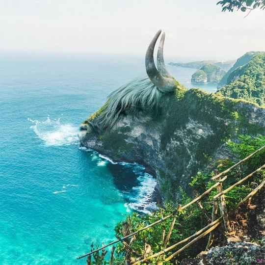 Цифровой художник Мартин Шрайвер любит играть с Photoshop и ищет вдохновения в красоте Матери-Природы.