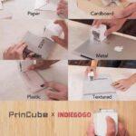 PrinCube: миниатюрный принтер, который печатает на любых поверхностях