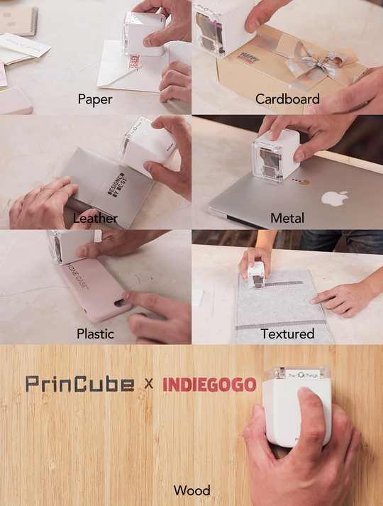 Разработчики из компании TheGodThings создали инновационный принтер PrinCube, не вписывающийся в рамки привычных представлений о принтере, как огромном и неповоротливом устройстве.