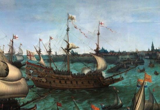 Линейный Повелитель морей - один из кораблей XVII века, на котором командовал Бенбоу