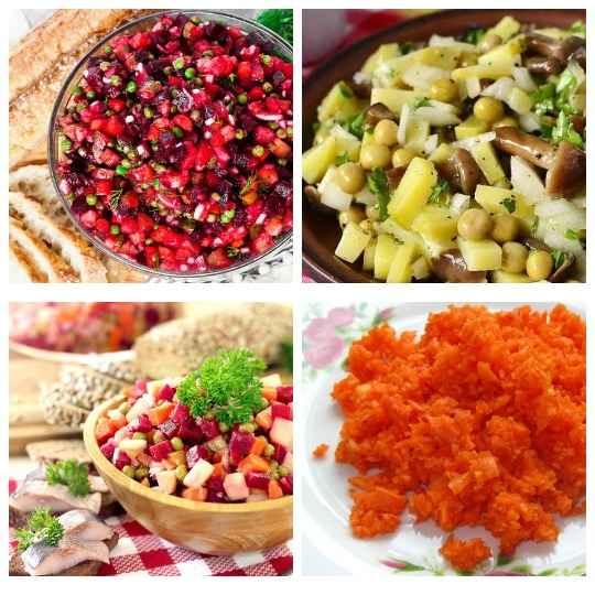 Постные салаты пользуются большой популярностью среди тех, кто соблюдает пост и тех, кто стремится придерживаться правильного образа питания.