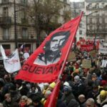Во Франции из-за всеобщей забастовки остановились поезда и метро
