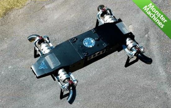 Этого объема горючего хватит на 15 минут полета с крейсерской скоростью 480 км/ч или на 30 минут зависания в воздухе. Впрочем, это показатели прототипа – в будущем конструкторы хотят поставить форсажные камеры, чтобы увеличить скорость полета.
