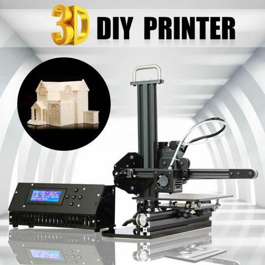 Модель Tronxy X1 - это 3D принтер начального уровня, а при поставке используется принцип самостоятельной сборки устройства из отдельных деталей.