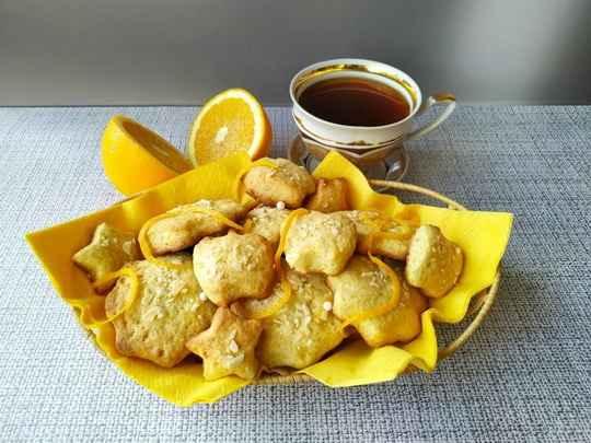 Рецепт апельсинового печенья, которого всегда мало, сколько не приготовь!
