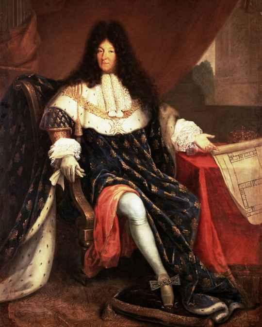 В правление Людовика XIV Версаль становится средоточием французского кулинарного искусства