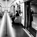 Опустевшее метро в китайском городе Чэнду