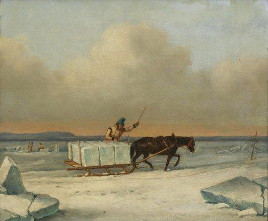 Лед для сохранения продуктов люди использовали с древности, свозя его с ледников в горах или, в равнинной местности