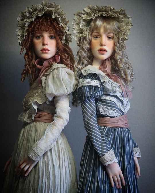Куклы Михаила Зайкова - очень необычны, не похожи ни на каких других.