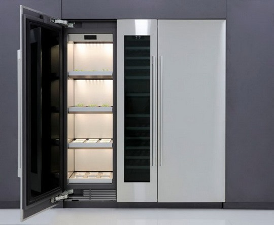 Компания LG разработала новый и достаточно необычный девайс — шкаф-теплицу для выращивания растительности прямо в домашних условиях.