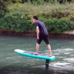 «Летать над водой»: eFoilFly представила доску для серфинга Neptun X