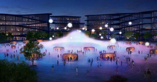 Японская компания Toyota планирует построить у подножия священной горы Фудзияма город будущего Woven City.