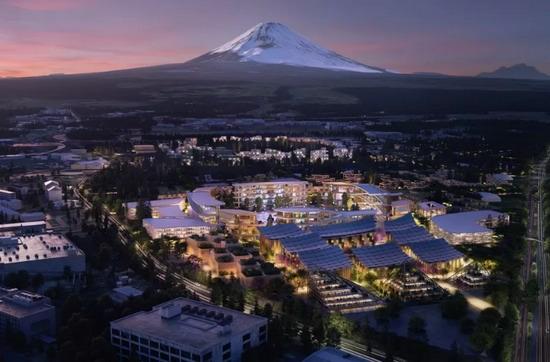 Инновационный город Woven City будет рассчитан всего на 2000 жителей.