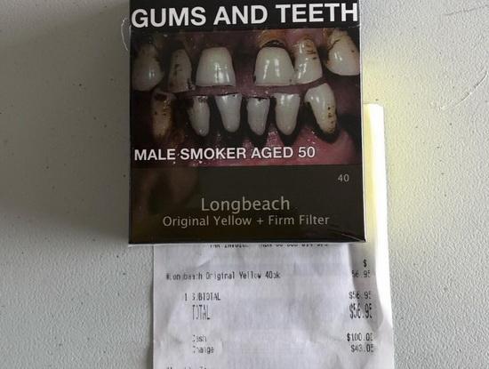 Сигареты Longbeach - $56.95 австралийских долларов (2400 руб), стоит отметить, что в австралийской пачке 40 сигарет.