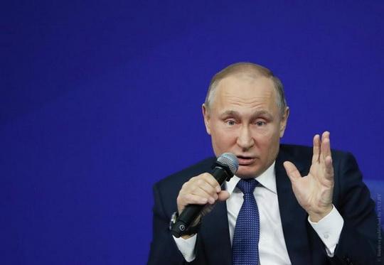 Об этом президент заявил на встрече с представителями общественности в Череповце (трансляцию вел телеканал «Россия 24»).