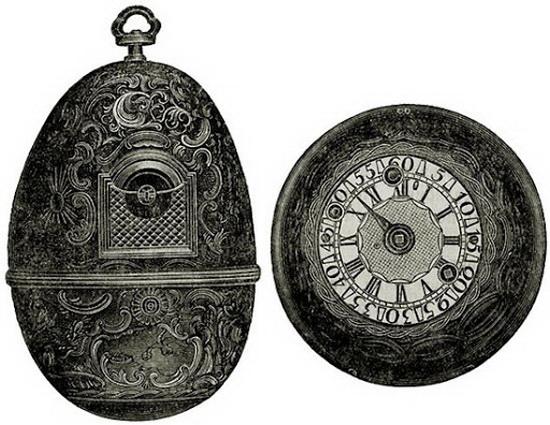 часы кулибина для екатерины