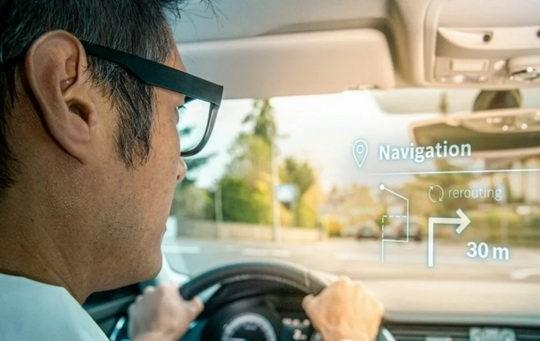 Компания Bosch разработала новый подход к производству дисплеев дополненной реальности.