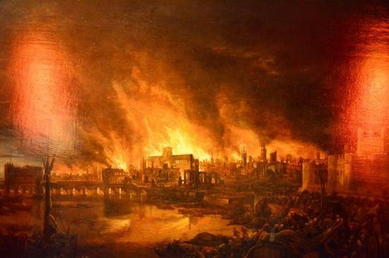 Великий лондонский пожар.