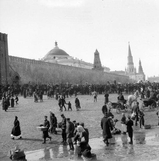 Москва в 1910 году, фото Самюэля Гопвуда