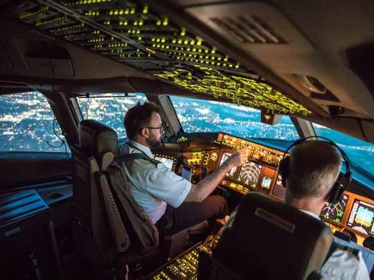 Пилоты имеют имеют возможность увидеть во время полетов много неожиданного и интересного