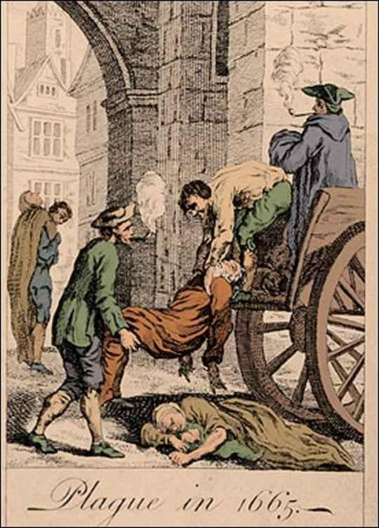 Эпидемия чумы, вспыхнувшая в сентябре 1665 года, не могла сравниться по масштабам с пандемией «черной смерти» XIV века, однако осталась в истории как «великая».