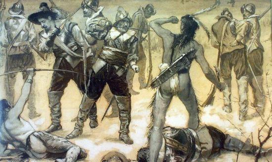 Война англичан с индейцами
