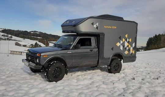 Lada Bronto 4×4: автокемпинг по-русски