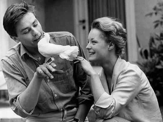 За романом Алена Делона и Роми Шнайдер, красивейшей пары кинематографа той эпохи, пристально следил весь мир.