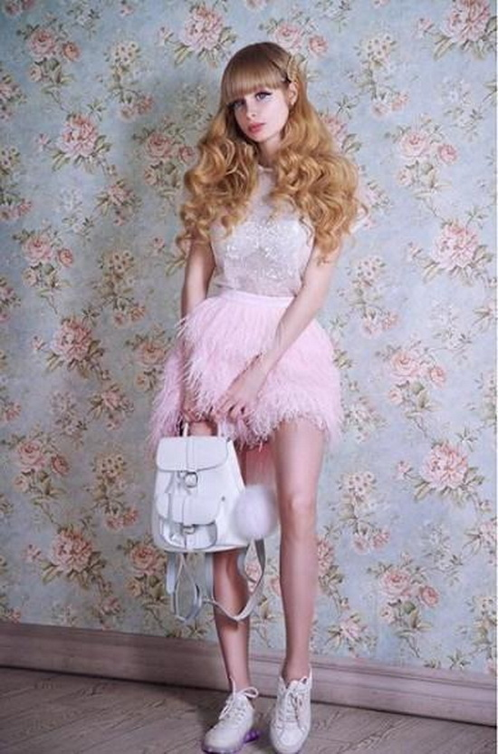 Так что теперь она – настоящая русская кукла Барби!