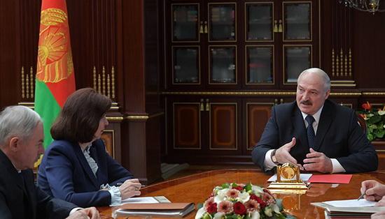 Фото пресс-служба президента Беларуси
