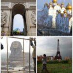 Китайские копии знаменитых достопримечательностей мира