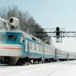 Первый реактивный поезд в СССР