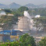 Крупная утечка газа на химическом заводе в Индии