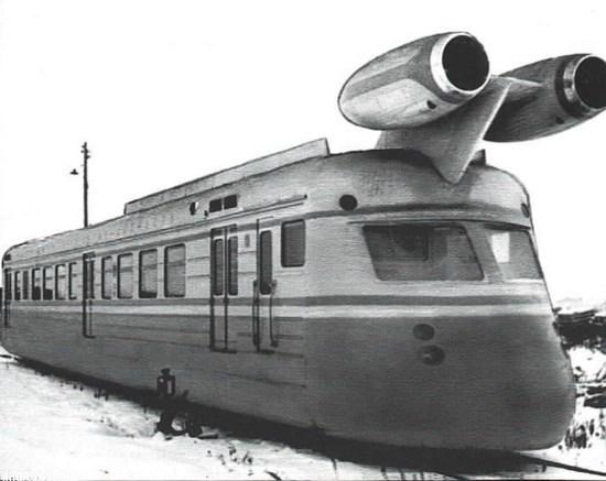 Состав мог разгонятся до скорости современных высокоскоростных поездов, но спустя пять лет остановился