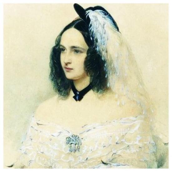 Мать Александра Наталья Пушкина-Гончарова