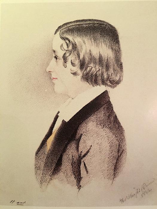 Старший сын поэта Александр в детстве