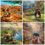 Томас Кинкейд: удивительные картины персонажей из мира Дисней