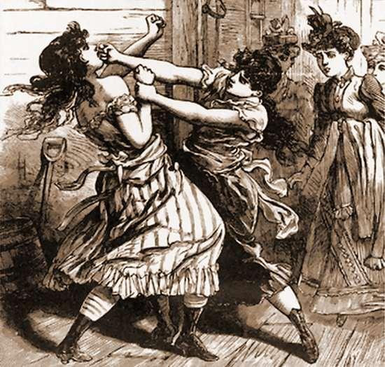 Кулачный бой, викторианская Англия