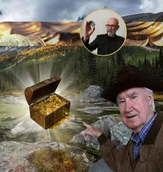 Неизвестный кладоискатель обнаружил в Скалистых горах в США так называемые сокровища Фенна