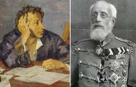 К концу жизни отставной генерал Пушкин иронично признавался дочке, что видит некоторое разочарование в глазах знакомых
