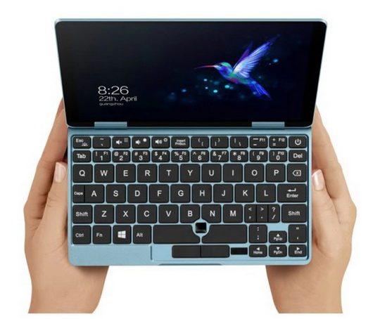 Компания One Netbook выводит на рынок модель ноутбука One Mix 1S+ с диагональю экрана 7 дюймов, работающую на процессоре Intel Core