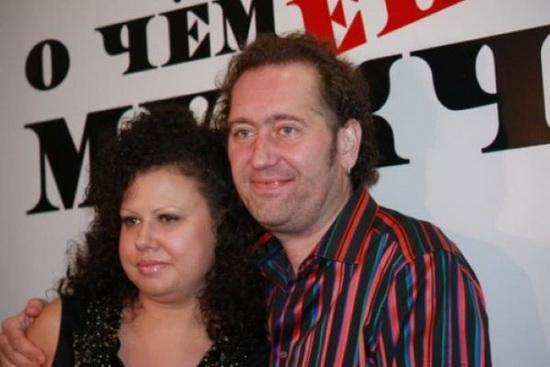 Александр Демидов и Елена (вторая жена)