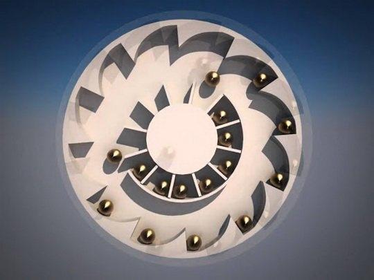 Вечный двигатель (лат. Perpetuum Mobile) — воображаемое устройство, позволяющее получать полезную работу большую, чем количество сообщённой ему энергии.