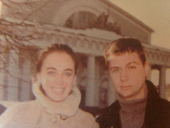 Лариса Гузеева и Илья (первый муж)