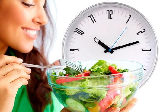 Если всегда есть по графику, то пищеварительная система привыкнет автоматически выделять в нужное время пищеварительные соки