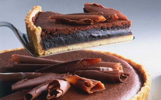 Австралия — французский шелковый торт