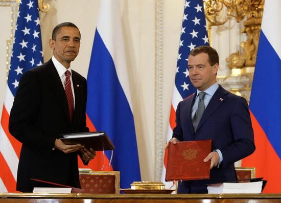ДСНВ был подписан Россией и США в 2010 году.