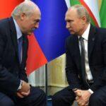 Путин: Россия по просьбе Лукашенко создала резерв правоохранителей для помощи Беларуси
