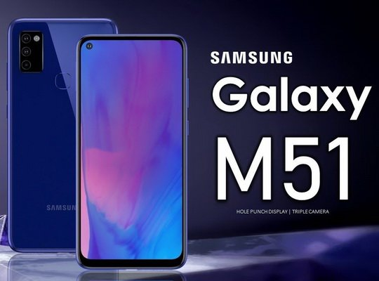 7000 миллиампер-часов — такова емкость аккумулятора смартфона Samsung Galaxy M51