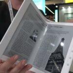 E Ink представила гибкий дисплей для складывающихся электронных книг